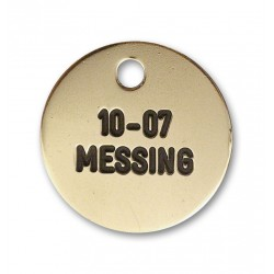 Hundetegn messing 10-07