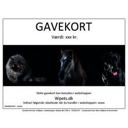 Gavekort til Wpets.dk
