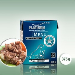 Platinum Menu fisk og kylling