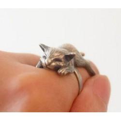Fingerring - Kat