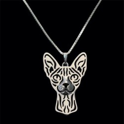 Halskæde - Spynx kat