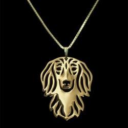Halskæde - Langhåret gravhund