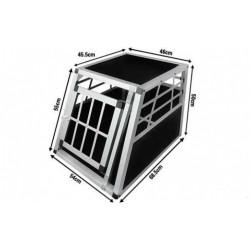 Transportbur Aluminium 92 x 65 x 69 cm