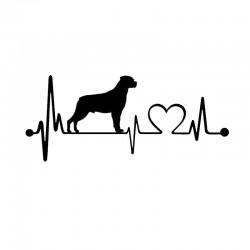 Klistermærke - Rottweiler