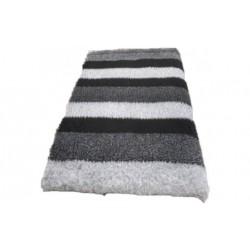 Vetbed rulle med 10 meter - grå striber