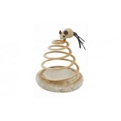 Katte legetøj - spiral med mus