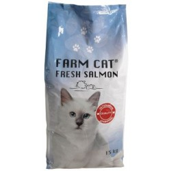 Farm Cat Fresh Salmon - 15kg