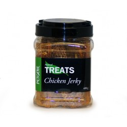 Petcare tørret kyllingekød 400 gram
