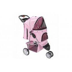 Hunde klapvogn - lys pink