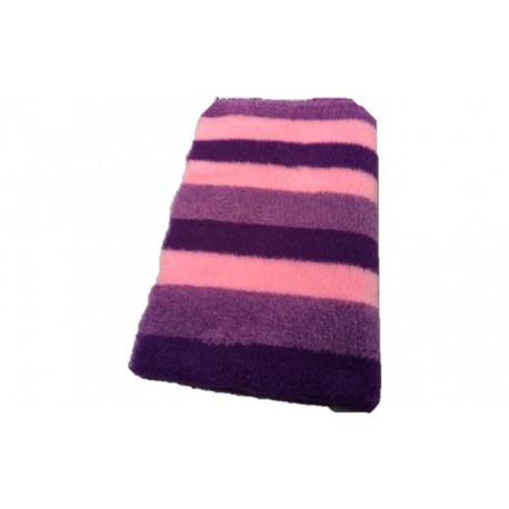 Vetbed - Stripes, lilla