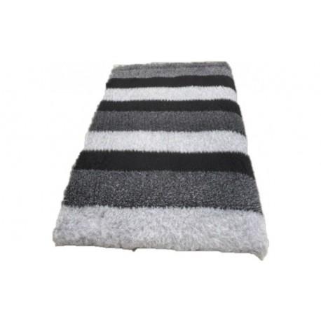 Vetbed - Stripes, grå