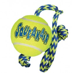 Kong Air Squeak Ball w/ Rope