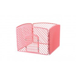 Hvalpe kravlegård - PINK plast