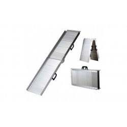 Topmast aluminium rampe