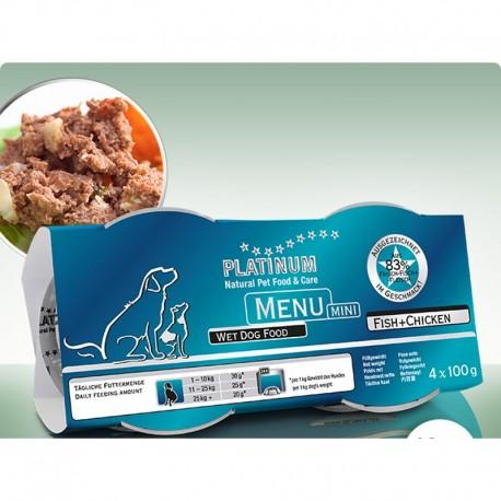 Platinum Menu Mini Fisk og kylling