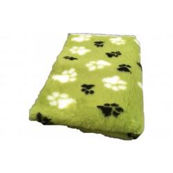 Vetbed - poter - Grøn med poter