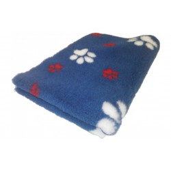 Vetbed - poter - blå rød hvid