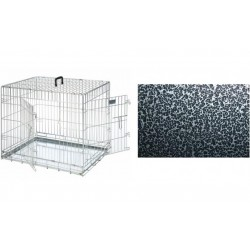 Hundebur - Silver coated