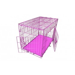 Topmast hundebur - pink