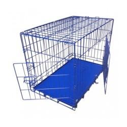 Topmast hundebur - blå