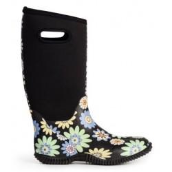 Multi støvle med blomster