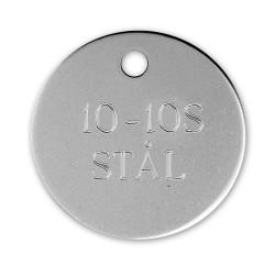 Hundetegn stål 10 10S