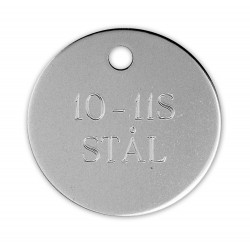 Hundetegn stål 10 11S