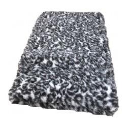 Vetbed - grå leopard