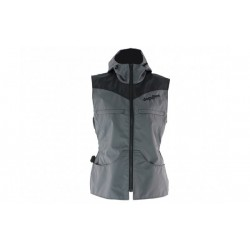 "D4M vest ""Stripe grey edition"""
