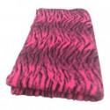 Vetbed - tiger - pink
