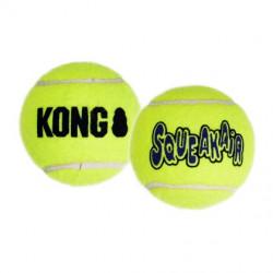 KONG Air Squeaker Ball - sæt med 2-pak
