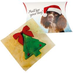 Julekort til hunden (tygge guf)
