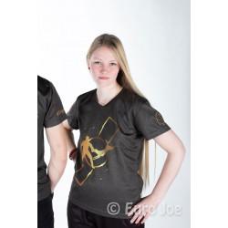 Euro Joe T-shirt med guldprint